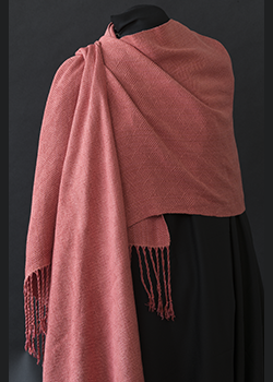 salmon plaited twill shawl dj wrapped_dsc0911.png